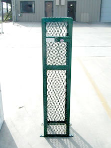 Green enclosure for irrigation devices