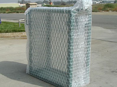 Every enclosure comes shrink wrapped from the factory